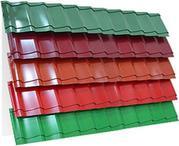 Металлочерепица в ассортименте,  большой выбор цвета,  Киев и область